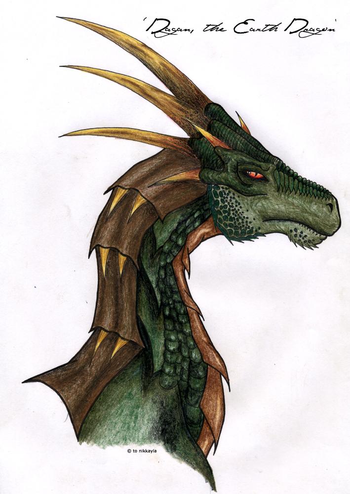 Earth Dragon: The Earth Dragon By Nikkayla On DeviantArt