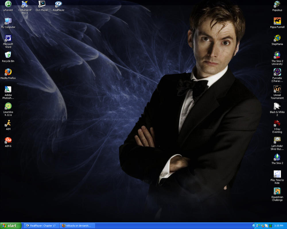 Doctor Who Wallpaper David Tennant Quote David Tennant W...