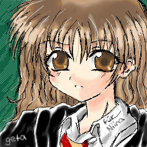 harry potter ---hermione by geta-chan