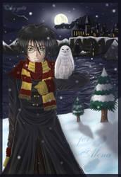 wintertime at hogwarts