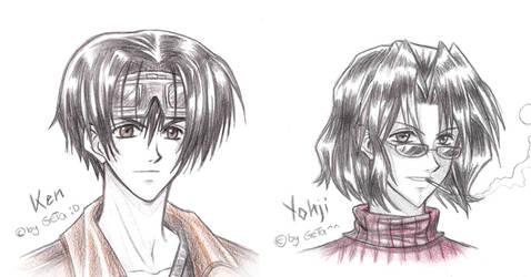 .:: Ken + Yohji ::.Weiss Kreuz