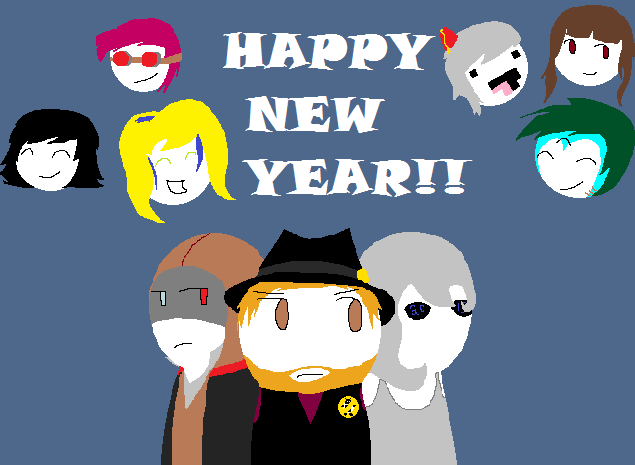 Happy New Year (This is so Late) by GennaCase1101