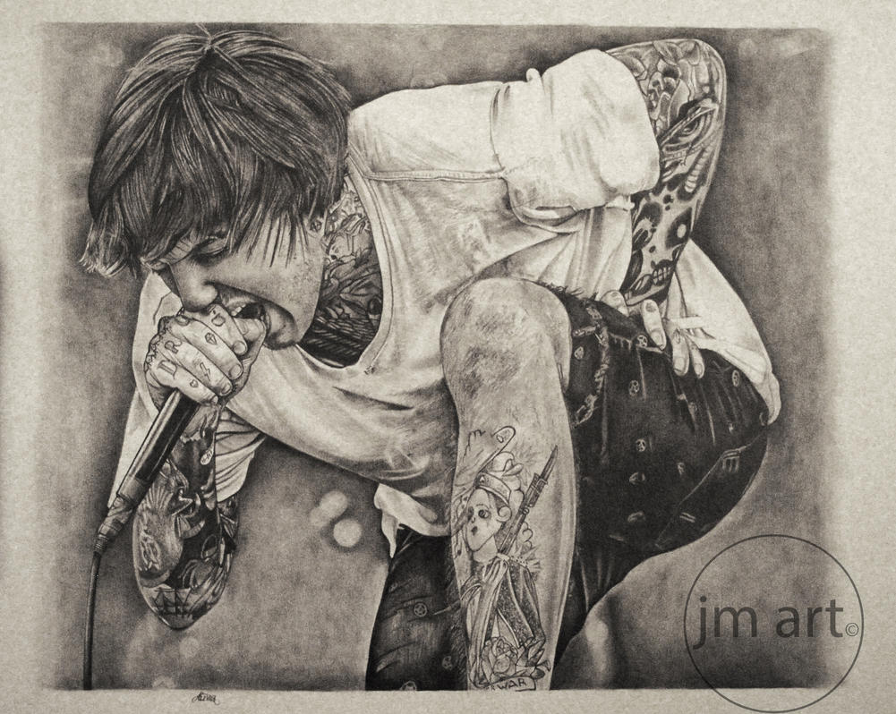 Oli Sykes 2 by JamesMacGee