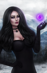 Yennefer and Magic
