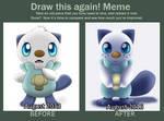 Draw this again!: Oshawott