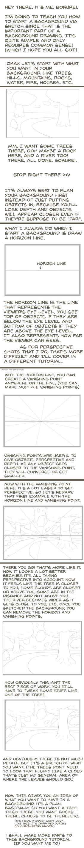 BG Tutorial Part 1 - Planning your background by Bokurei-san