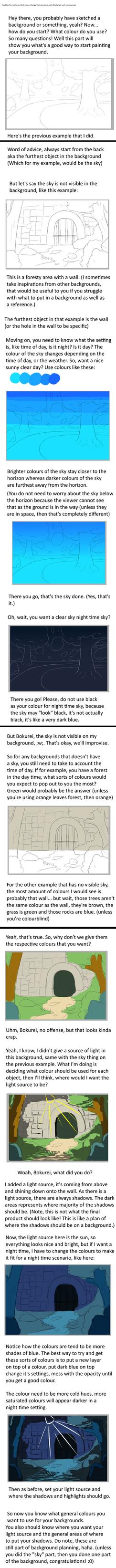 BG Tutorial Part 2: Sky, Colour and Light source by Bokurei-san