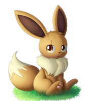Isolde the Eevee by Bokue