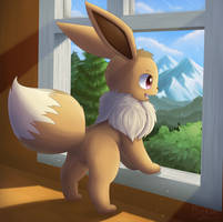 Eevee: The Destiny Infinite by Bokue