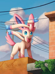 Hang Out with Sylveon