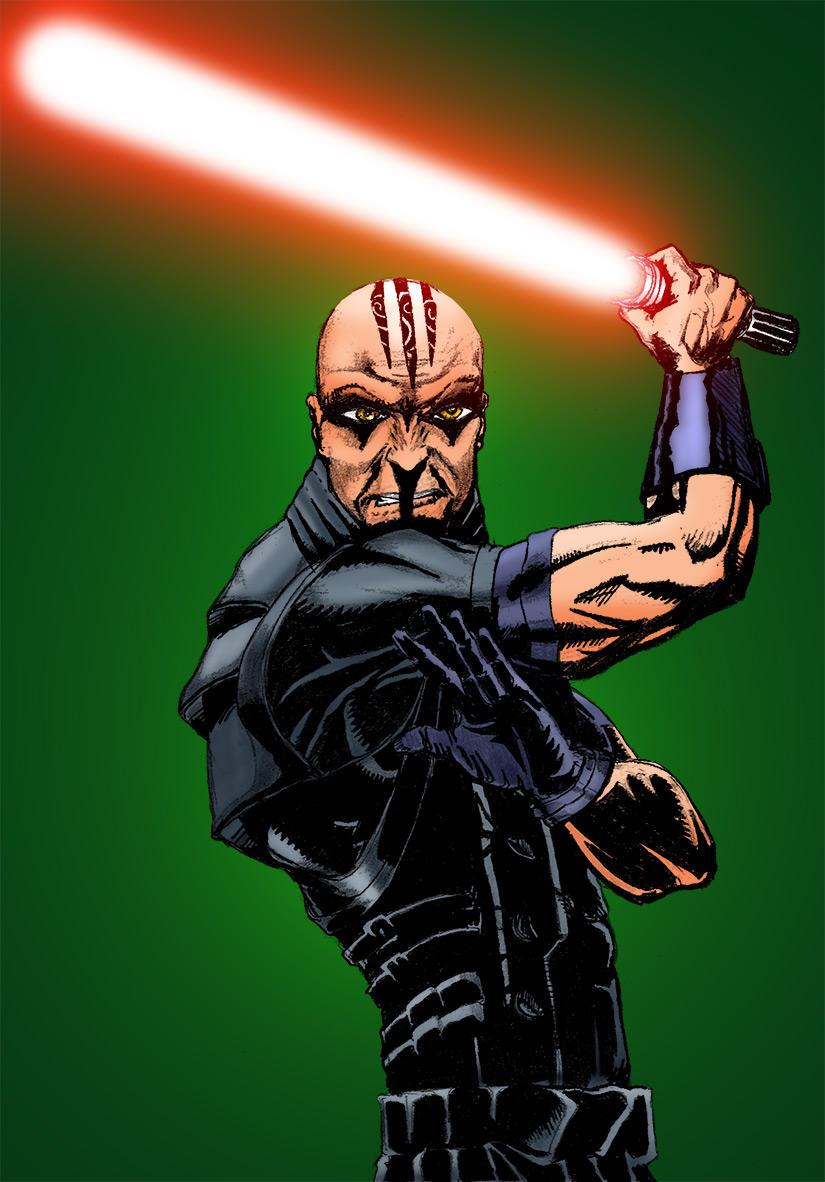 Dark Jedi Trenox by Anstrona