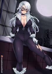 Commision: Black Cat / MARVEL by virus-g