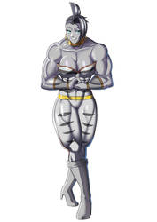 African Amazon Zecora pose by DrMGrowth