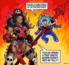 Chaos vs SJW (featuring Thomas Preston) by DrMGrowth