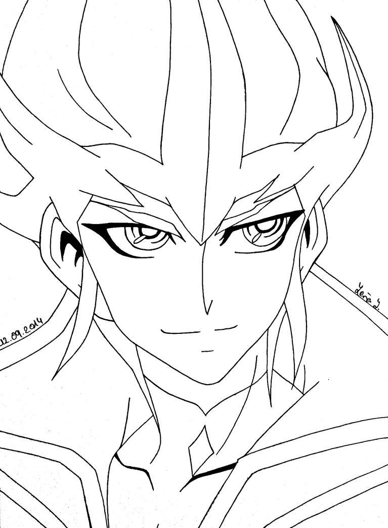Kaito Tenjo (lineart) by EvilAngelofKC17