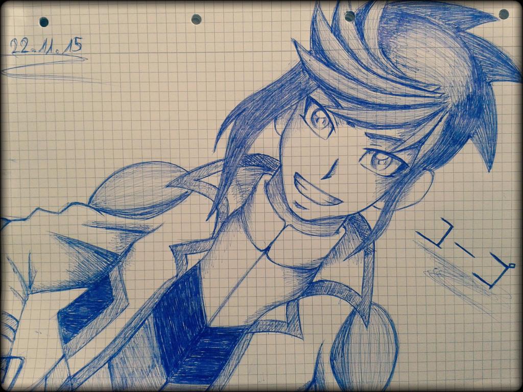 Yuugo~ sketch by EvilAngelofKC17