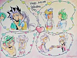 Valentines//Counterparts + Shun by EvilAngelofKC17