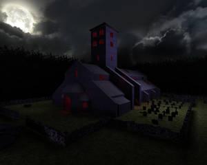Diablo 1's Tristram chapel