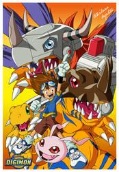 Digimon Tai by AnimeWorldArtProject