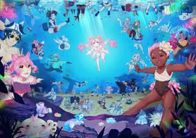 Peachy Beach Underwater! (Read Desc. Please!)