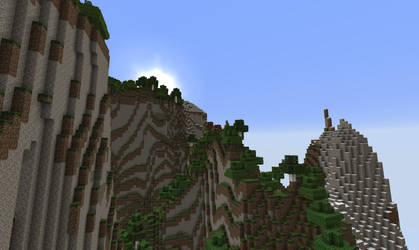minecraft hilly mountain