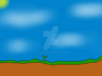 Turtwig in the ground (print)