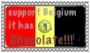 Belgium chocolate stamp by jomy10