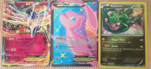 My new cards: top 3