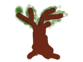 Sketch This - Time Challenge - Tree made by my mum by jomy10