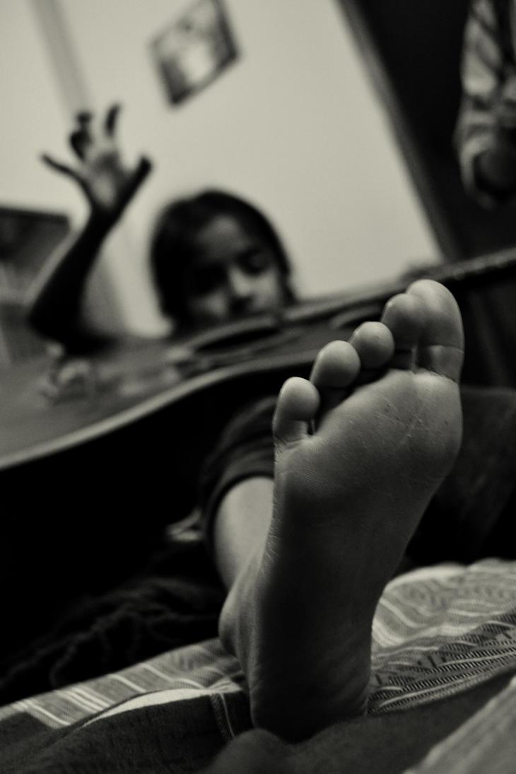 lil rockstar foot by UPAMA