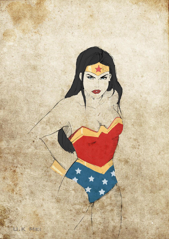 Wonder Woman by UPAMA