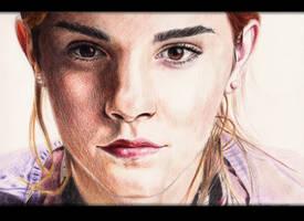 Emma Watson by Aruthe