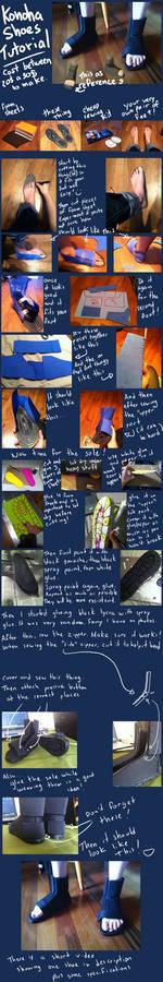 Naruto - Konoha Shoes Tutorial