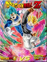 Father Vs Son (GT Vs Super) Dragon Ball Z by DBZandGT4Life