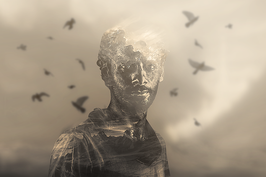 Double Exposure  [ muhamed ] by malmu