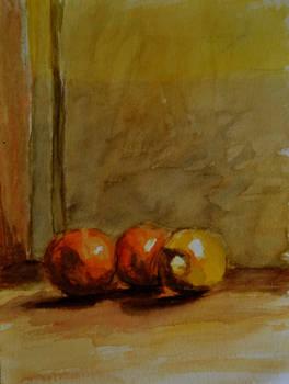 Akvarelcsend