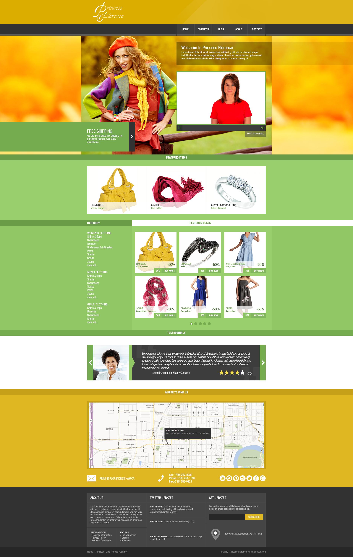 Princess Florence Template - For Sale