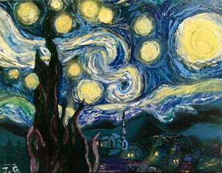 The Starry Night by jag140