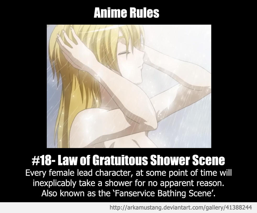 Anime Rule #18 by ArkaMustang