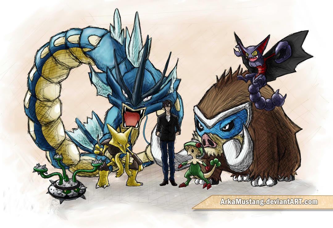 Pokemon tram xxx scene