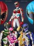 Commission - Power Rangers