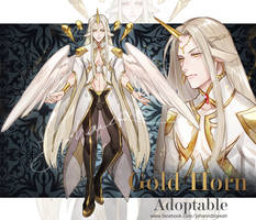 [CLOSED] Gold Horn - Adoptable