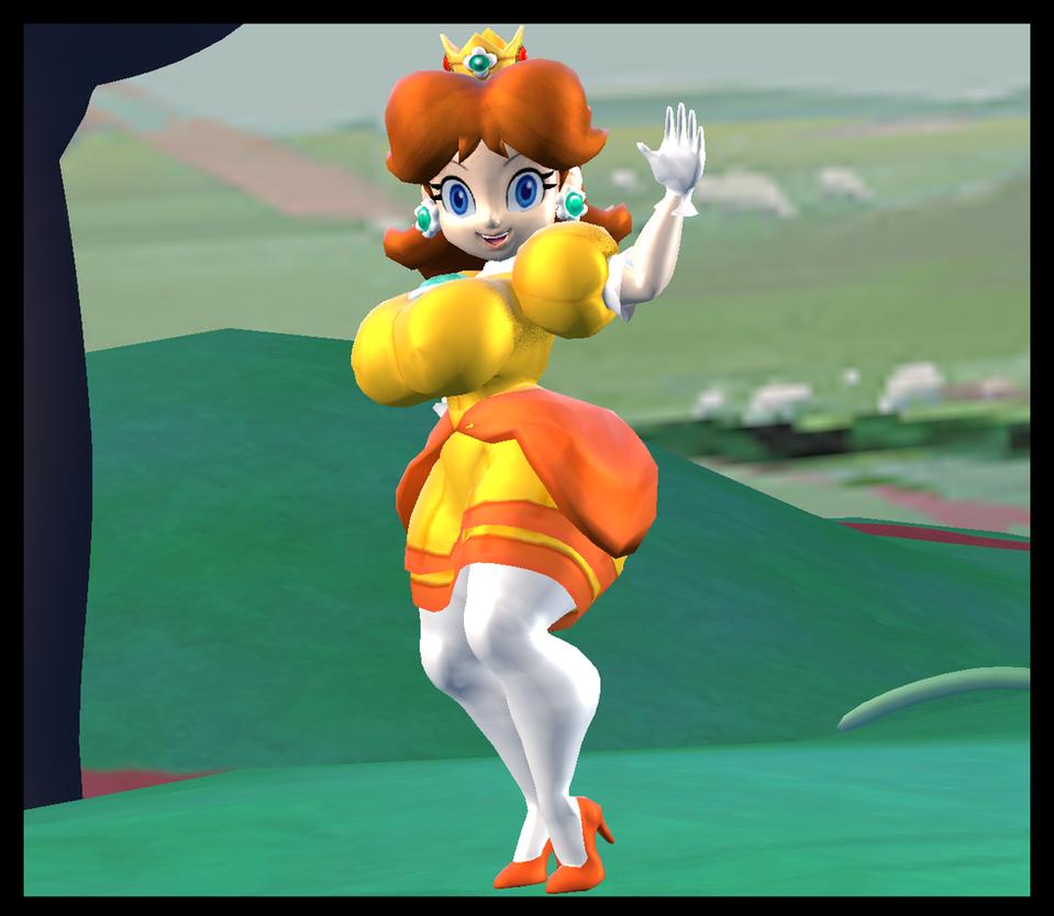 Curvy Princess Daisy 2 By KabalMystic On DeviantArt