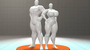 Male and Female Figures for SFM Release