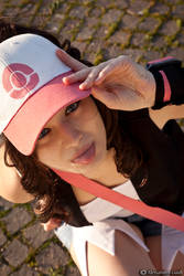 Touko . Pokemon Trainer cosplay