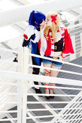 Alto and Sheryl - Macross Frontier cosplay