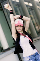 Pokemon Black and White trainer . Hilda by Rael-chan89
