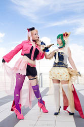 MACROSS // The Wings of Goodbye: Sheryl and Ranka