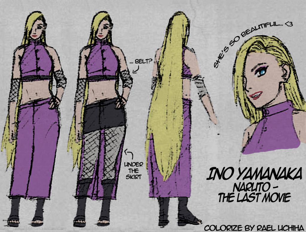 Ino Yamanaka . Naruto: The Last movie _ colorize by Rael ...