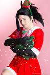 Yaoyorozu Momo XMAS cosplay